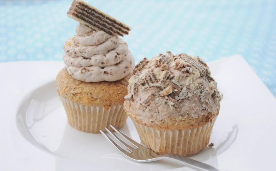 Haselnusscupcakes