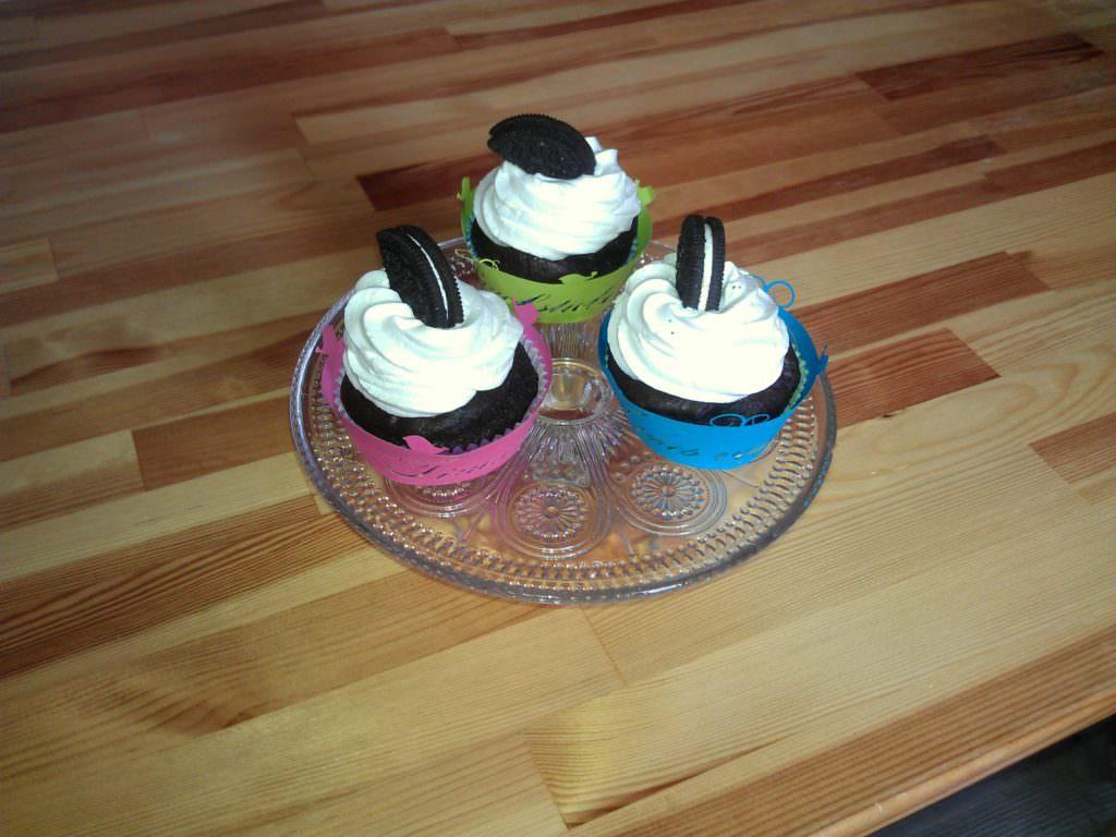 vegane Oreocupcakes