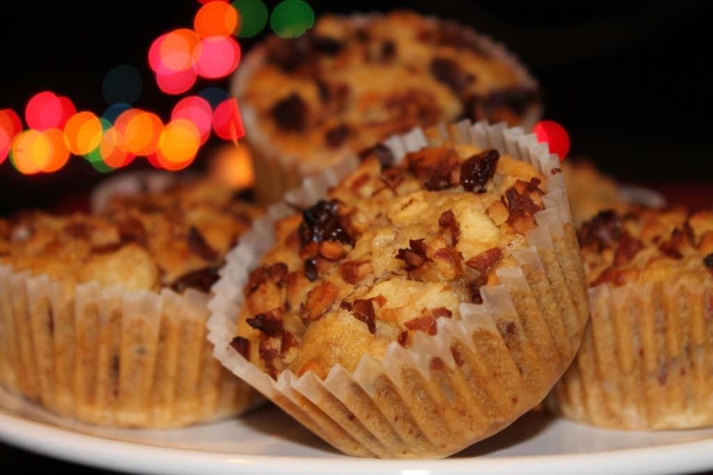 Bratapfelmuffins vegan