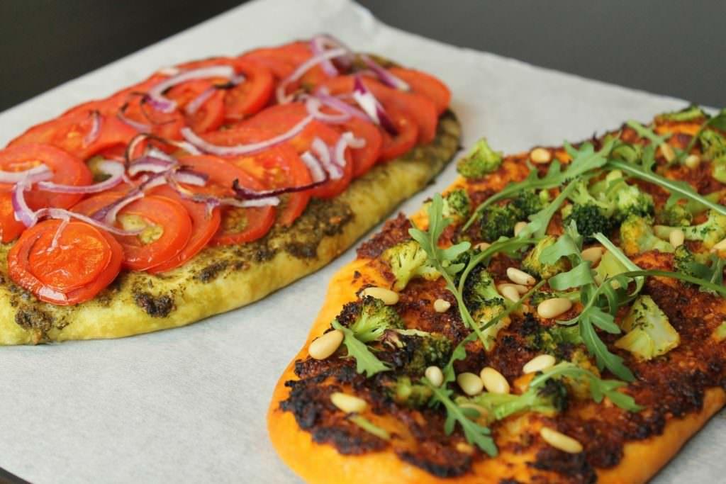 Pizzaschnitten vegan