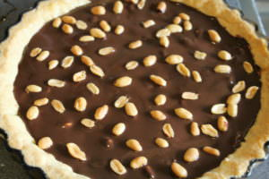 Erdnuss-Schokolade